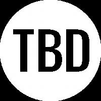 TBD roundel logo white cutout