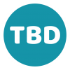 TBD roundel logo white edge