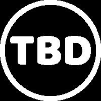 TBD roundel logo white